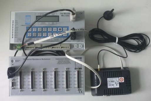 Data logger with Multiplexer and Wi-Fi Modem